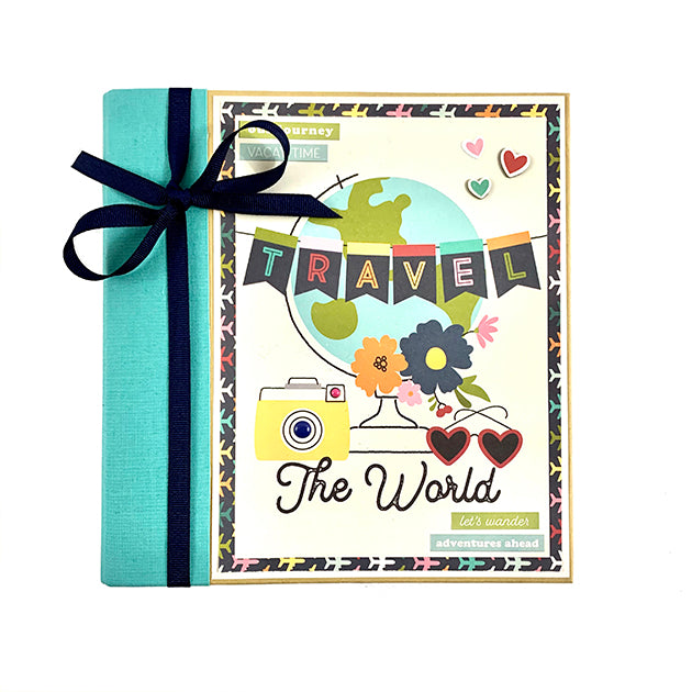 Travel Scrapbook Album Kit