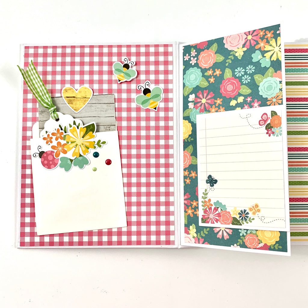 Hello Spring Easter Mini Scrapbook Album Kit