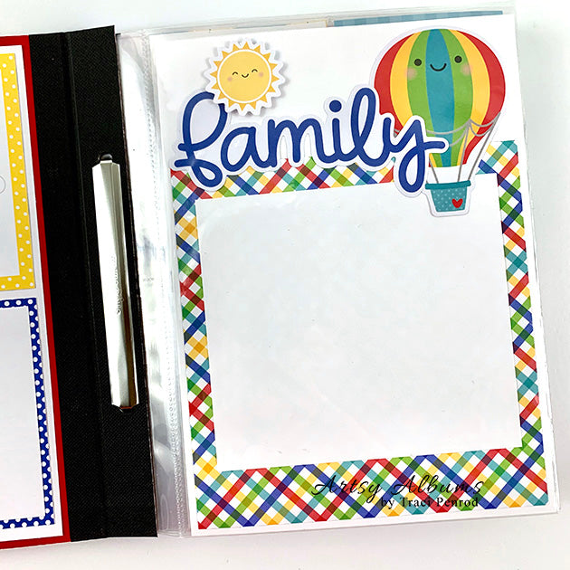 Summer Scrapbook Album Instructions, Digital Download