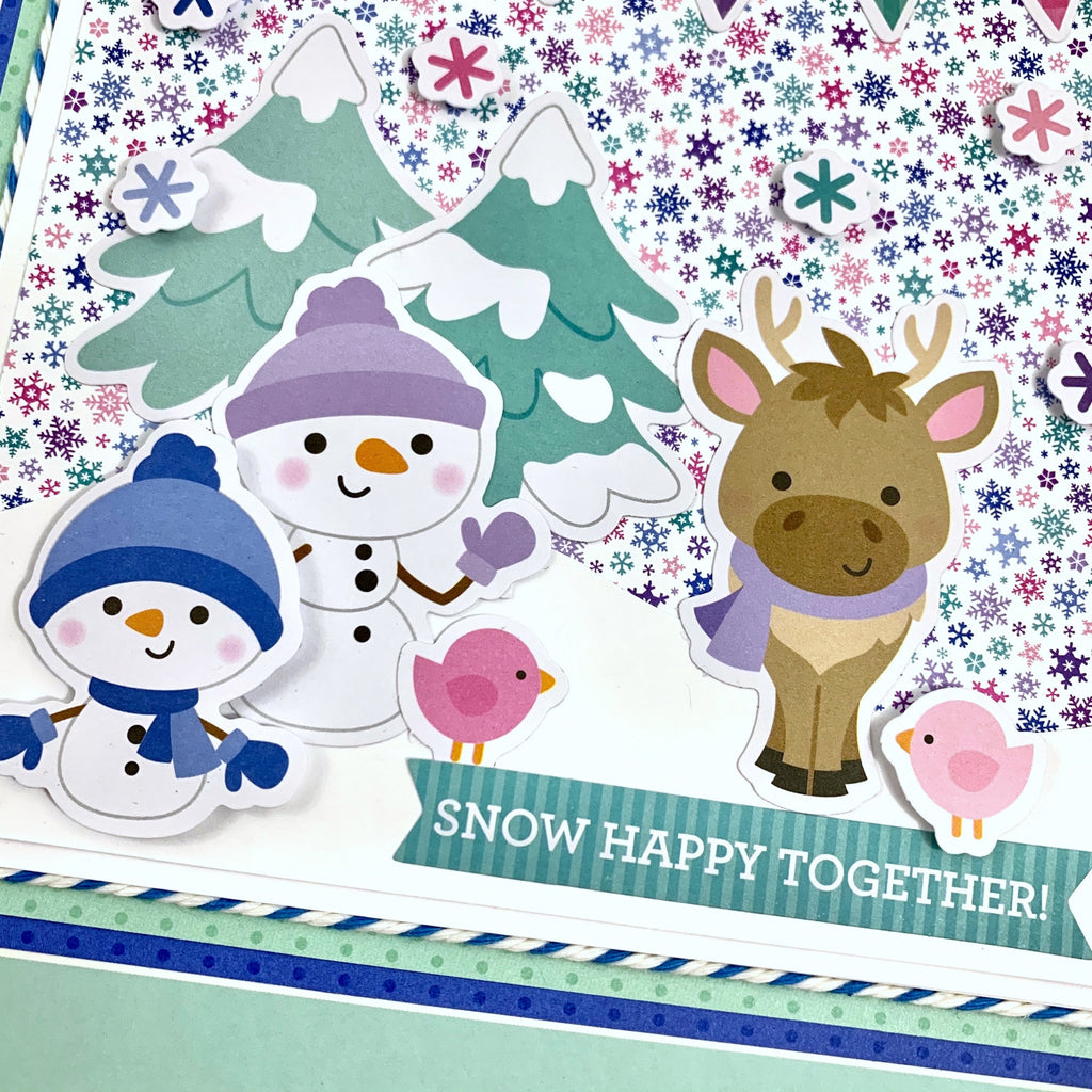 Snow Happy Together Album Instructions, Digital Download