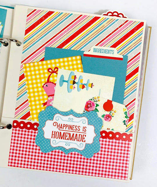 Recipe Scrapbook Album, Instructions, Digital Download
