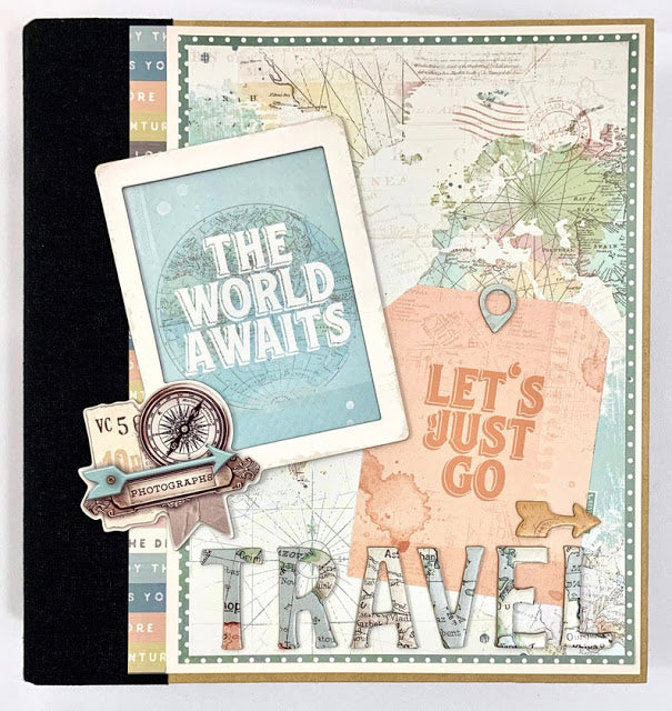 Vintage Travel Album Instructions, Digital Download