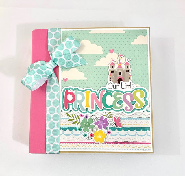 Our Little Princess Album Instructions, Digital Download