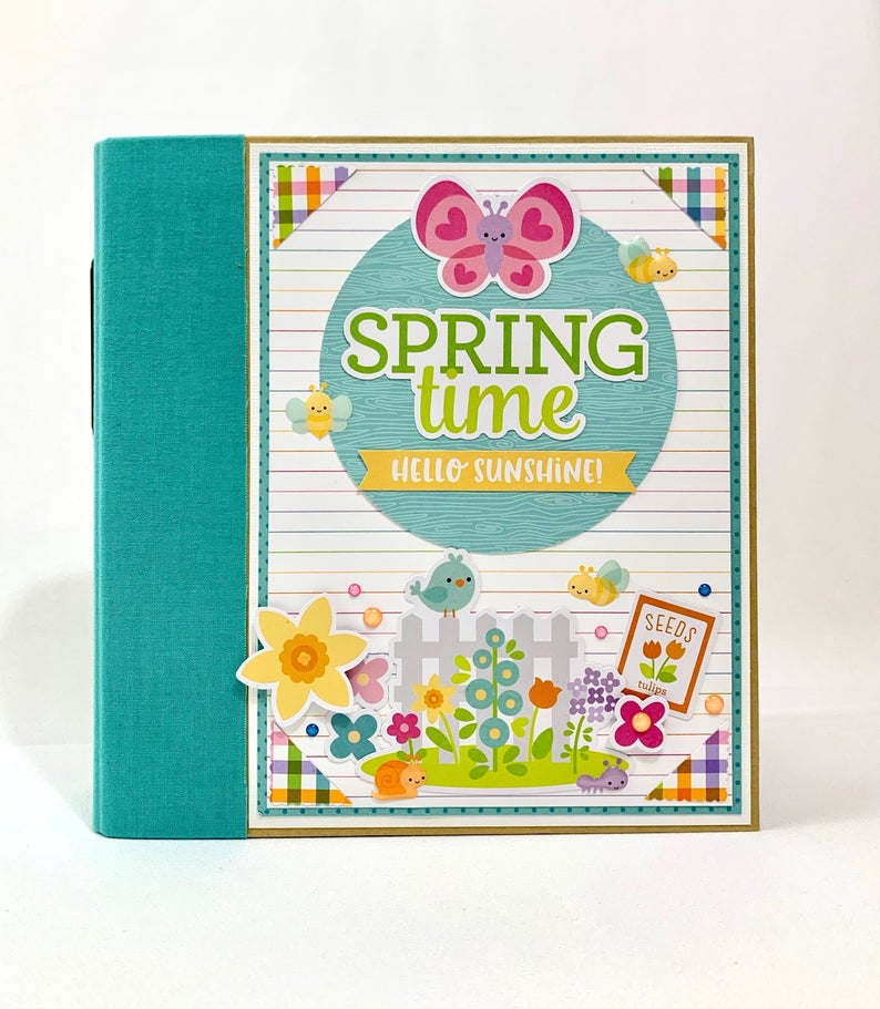 Spring Time Hello Sunshine Album Instructions, Digital Download