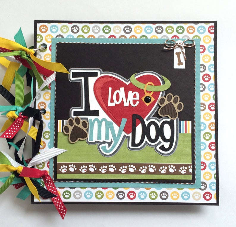 I Love My Dog Album Instructions, Digital Download