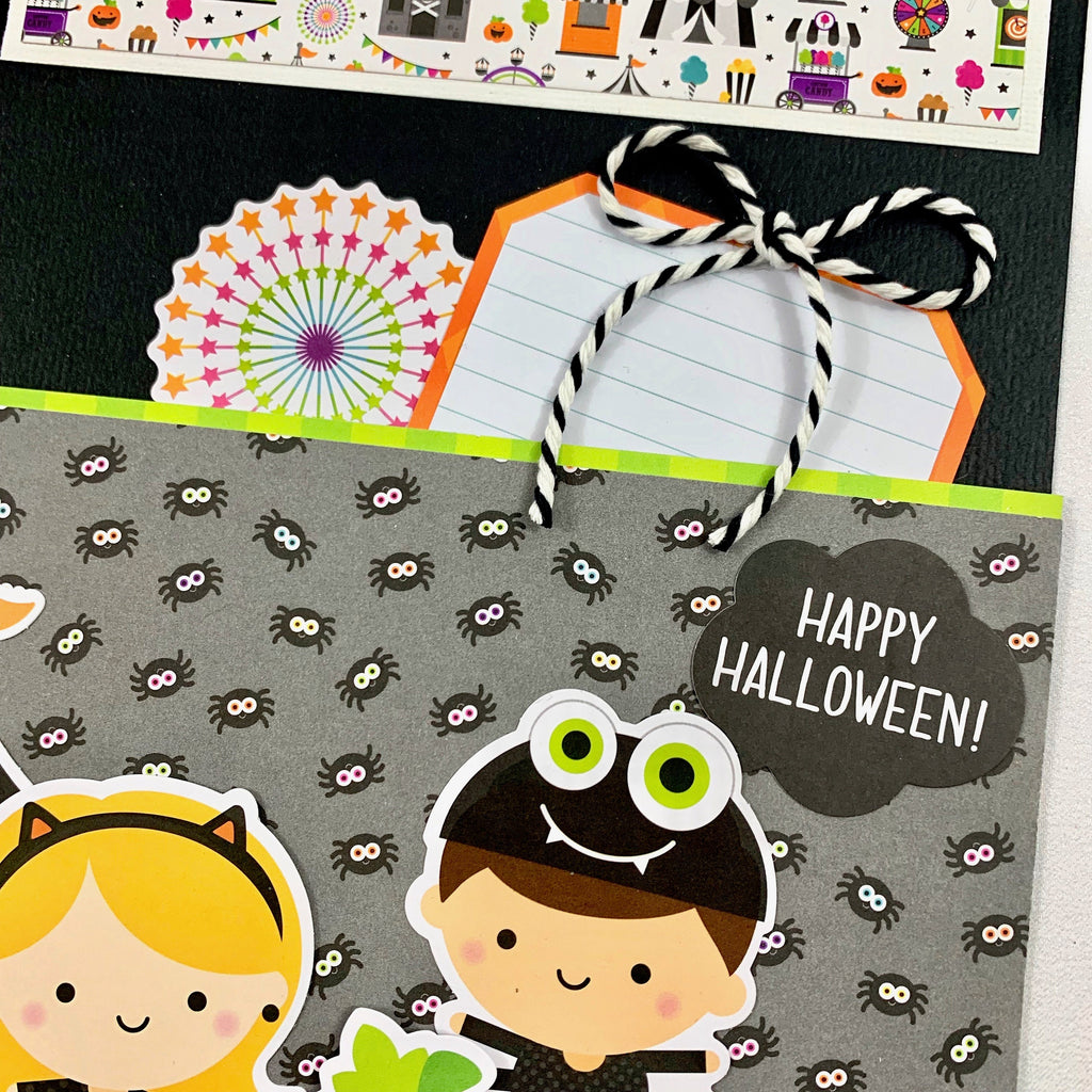 Halloween Scrapbook Page Kit