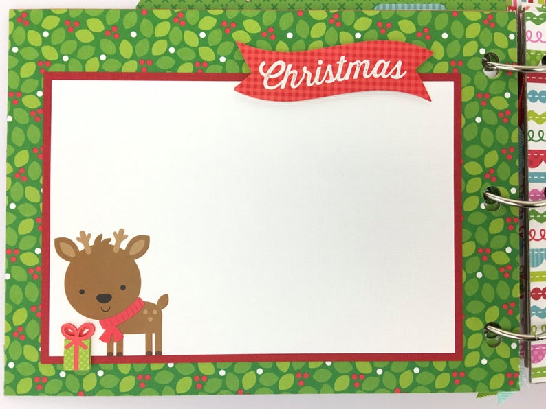 Christmas Sugarplum House Album Instructions, Digital Download