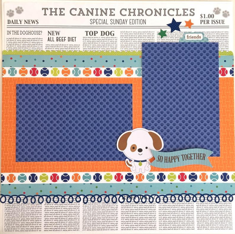 12x12 Dog Pet Layout Instructions, Digital Download