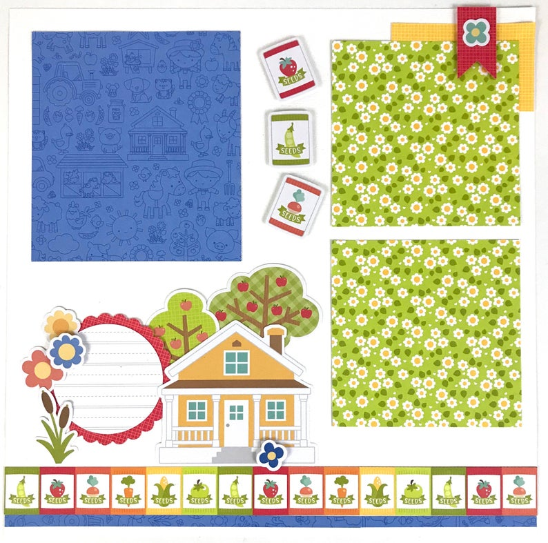 12x12 Farm Layout Instructions, Digital Download