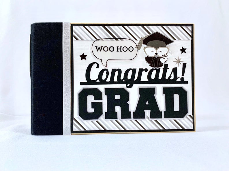 Congrats! Graduation Album Instructions, Digital Download