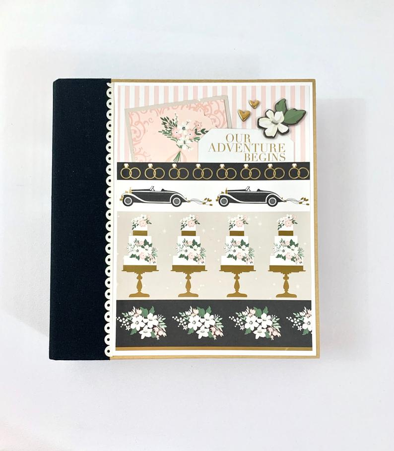 Wedding Scrapbook Album Instructions, Digital Download