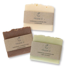 Eco-friendly cleansing bars