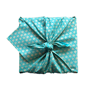 Fabric Wrapping Paper - Jade Single Sided