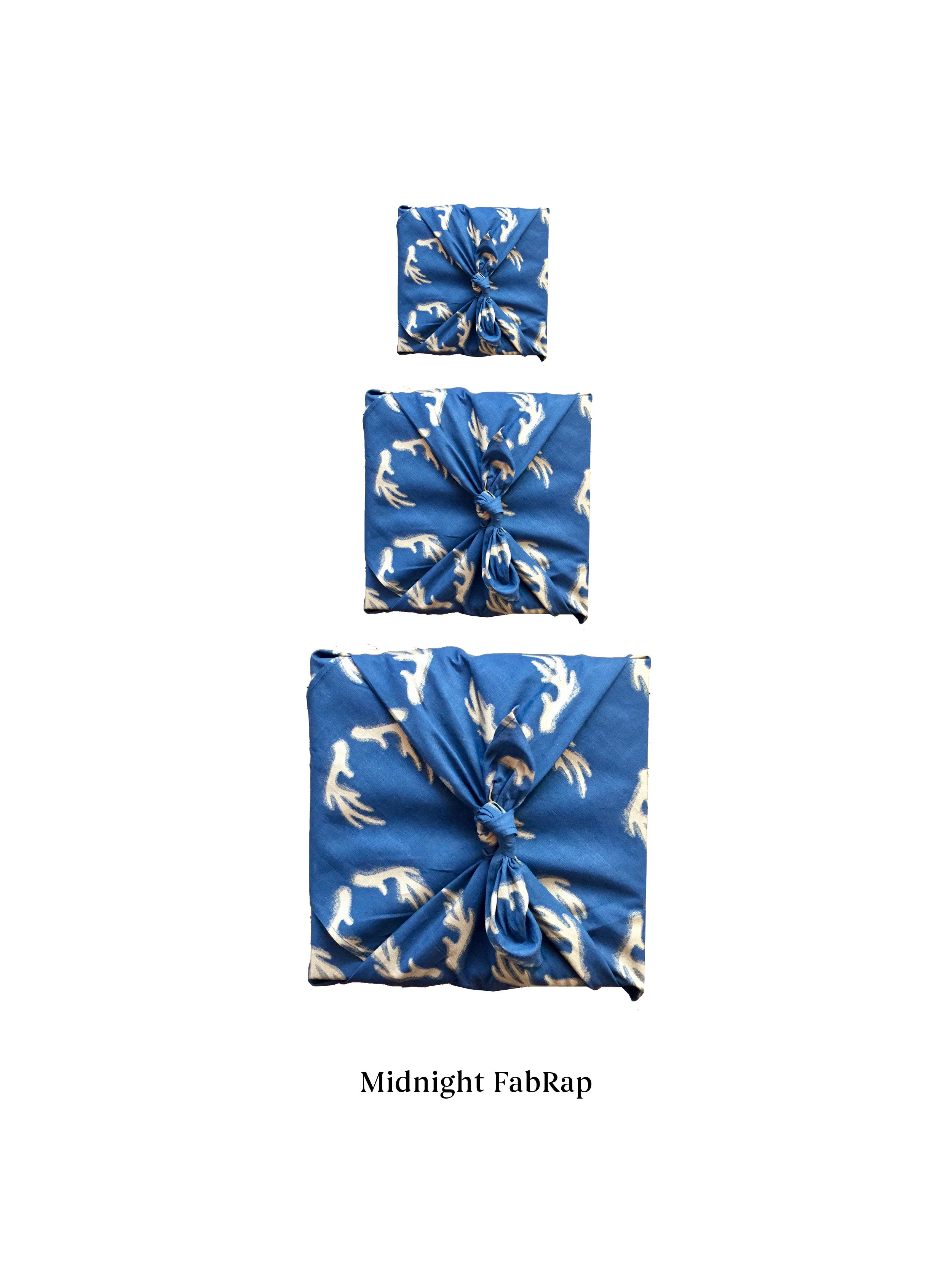 Fabric Wrapping Paper - Midnight Single Sided