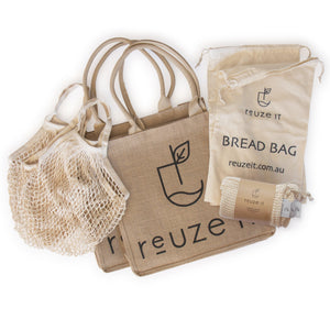 Zero Waste Shopping Bundle | Bundle | Reuze It | Eco Store | Eco Friendly Products