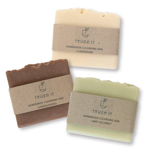 Cleansing Bar Bundle | Bundle | Reuze It | Eco Store | Eco Friendly Products