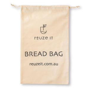 Organic Cotton Bread Bag | Bread Bag | Reuze It | Eco Store | Eco Friendly Products