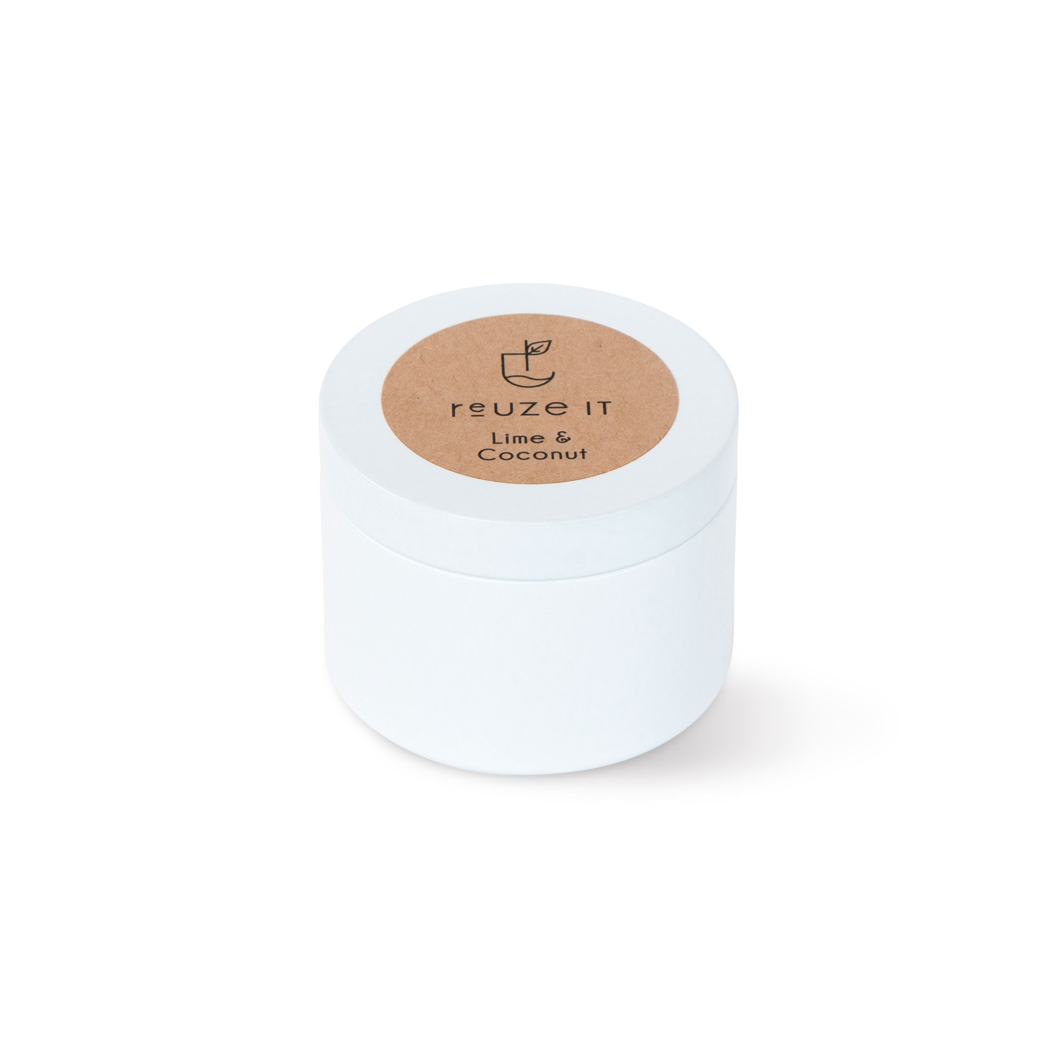 Candle - Lime & Coconut | Candle | Reuze It | Eco Store | Eco Friendly Products