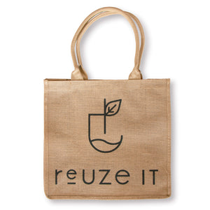 Jute Shopping Bag | Shopping Bag | Reuze It | Eco Store | Eco Friendly Products