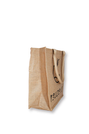 Jute Shopping Bag - 4 Pack