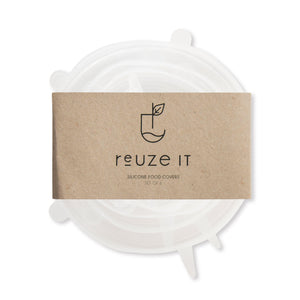 Silicone Food Covers | Storage | Reuze It | Eco Store | Eco Friendly Products