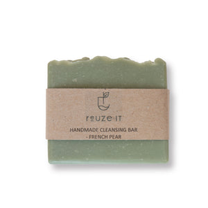 Cleansing Bar - French Pear | Soap | Reuze It | Eco Store | Eco Friendly Products