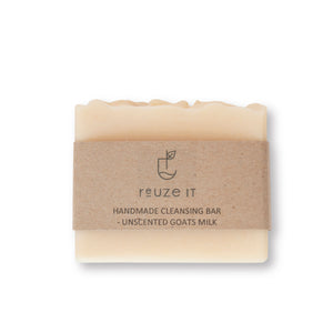 Cleansing Bar - Unscented Goats Milk | Soap | Reuze It | Eco Store | Eco Friendly Products