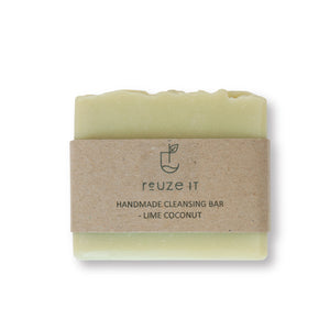 Cleansing Bar - Lime Coconut | Soap | Reuze It | Eco Store | Eco Friendly Products