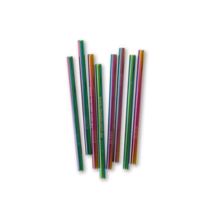 Smoothie Stainless Steel Straws (assorted colours) | Straws | Reuze It | Eco Store | Eco Friendly Products