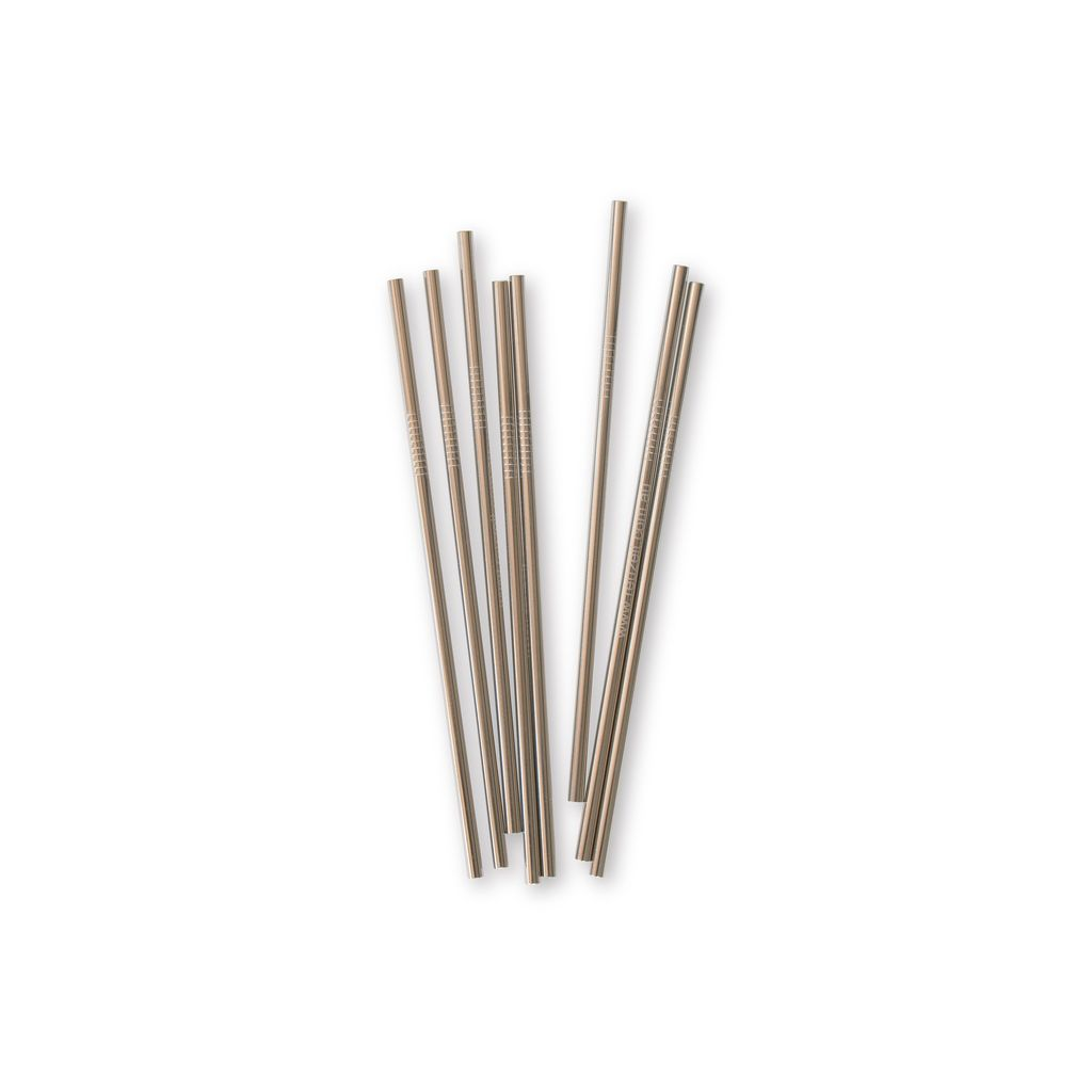 Straight Stainless Steel Straws (assorted colours) | Straws | Reuze It | Eco Store | Eco Friendly Products