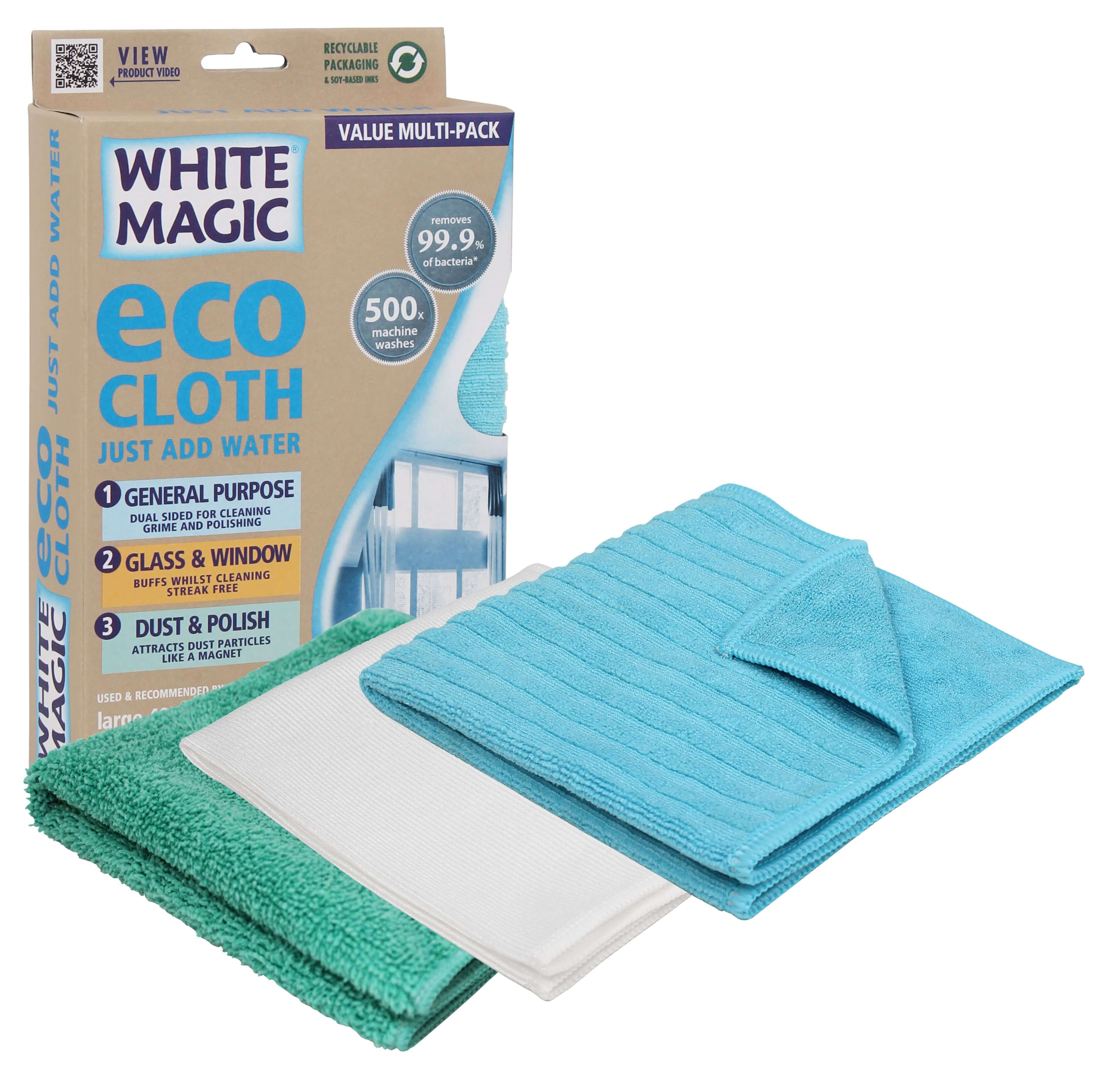 Eco Cloth Household Value Pack | Cleaning aids | Reuze It | Eco Store | Eco Friendly Products