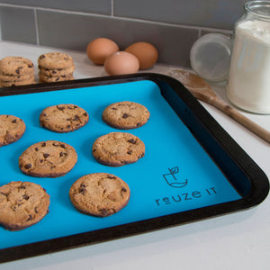Silicone Baking Mat - Blue