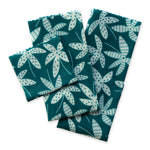 Beeswax Wrap - 3pk (Emerald Tropical Leaves) | Storage | Reuze It | Eco Store | Eco Friendly Products