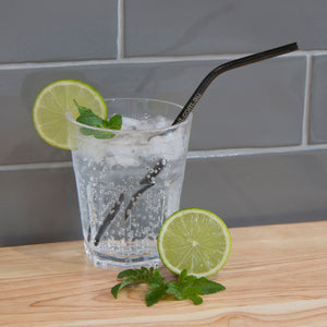 Bent Stainless Steel Straws (assorted colours) | Straws | Reuze It | Eco Store | Eco Friendly Products