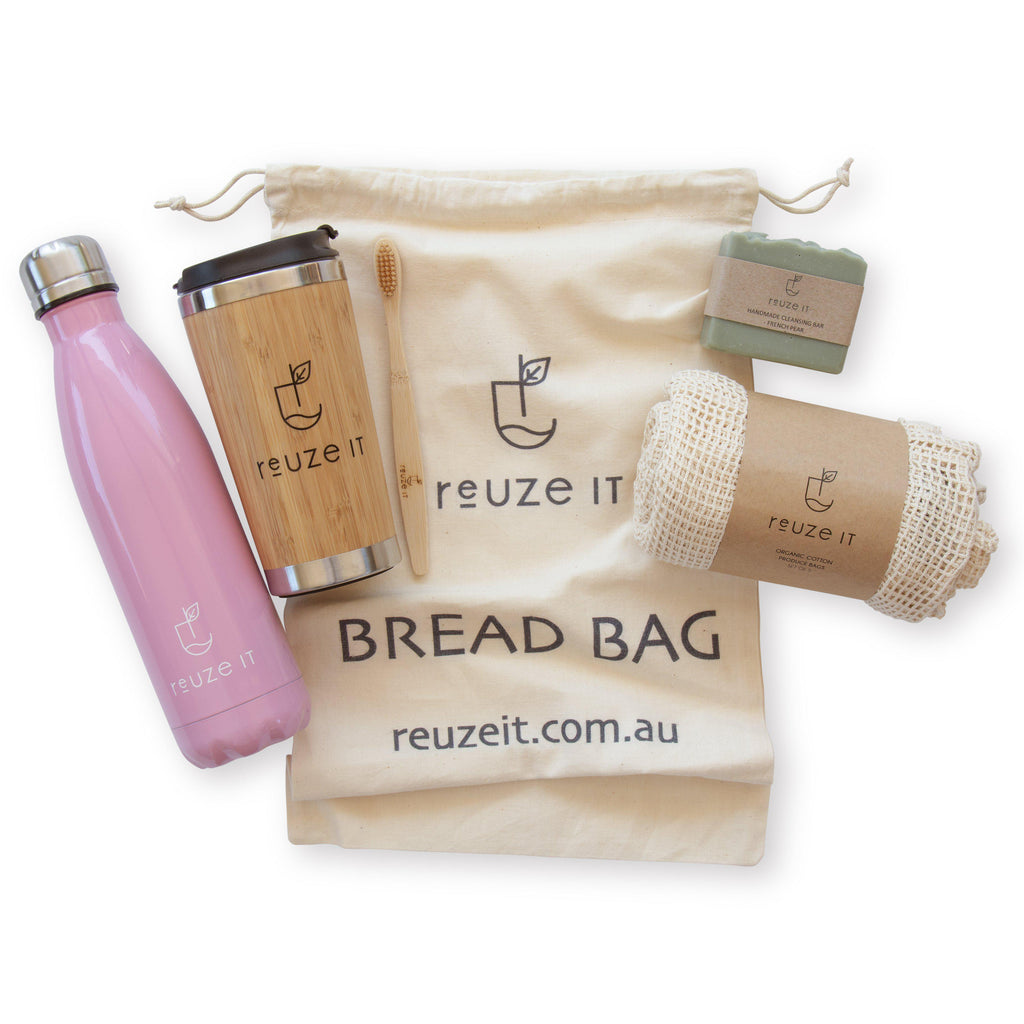Zero Waste Everyday Essentials Bundle | Bundle | Reuze It | Eco Store | Eco Friendly Products