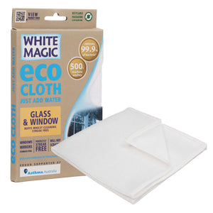 Eco Cloth Glass & Window | Cleaning aids | Reuze It | Eco Store | Eco Friendly Products