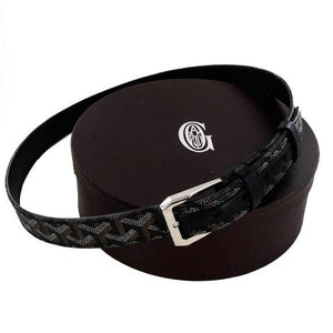 Designer Goyardine Belt (All Colors) 8451cad30ad9c