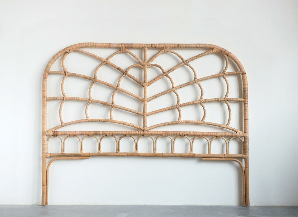 Rattan Queen Size Headboard