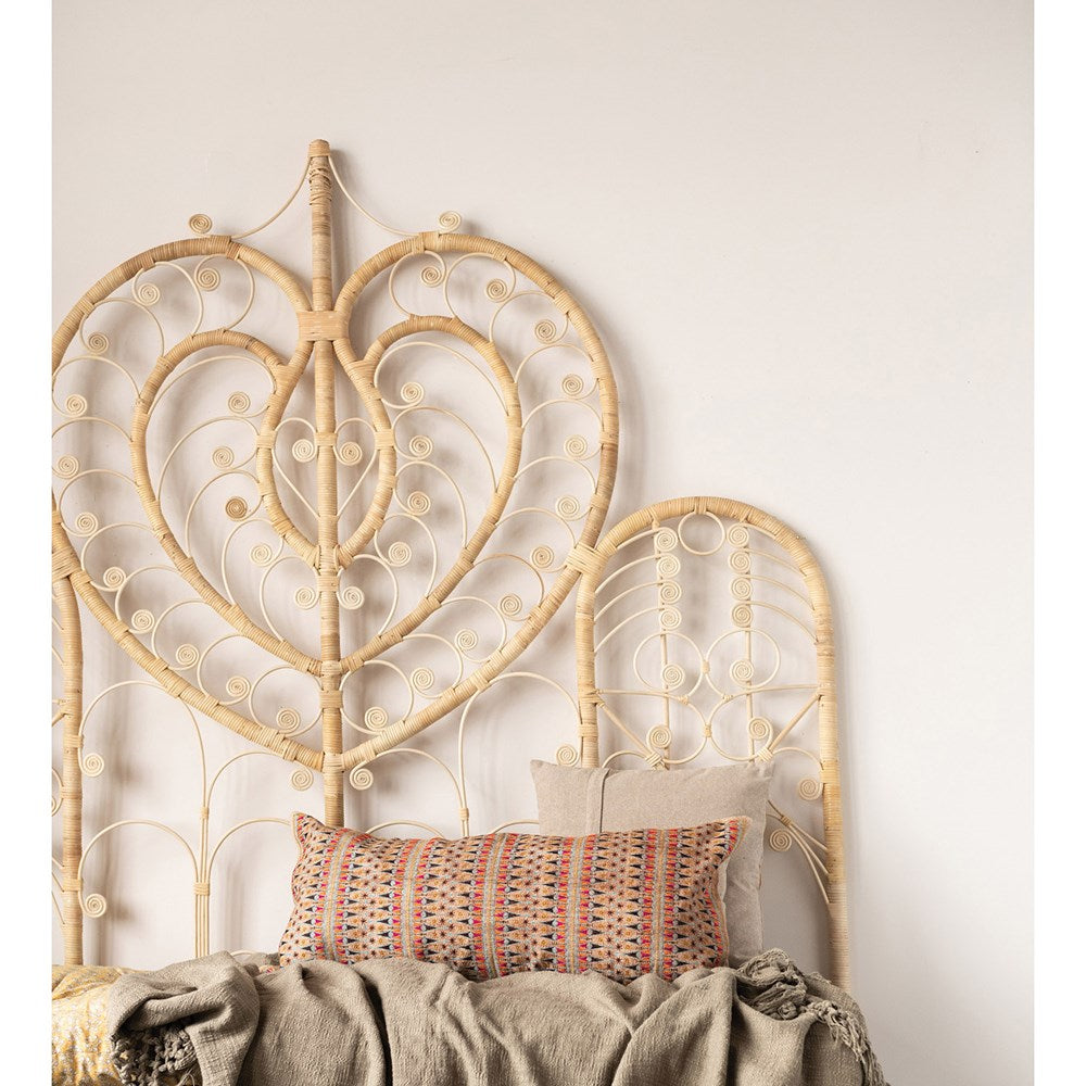 Rattan King Size Headboard