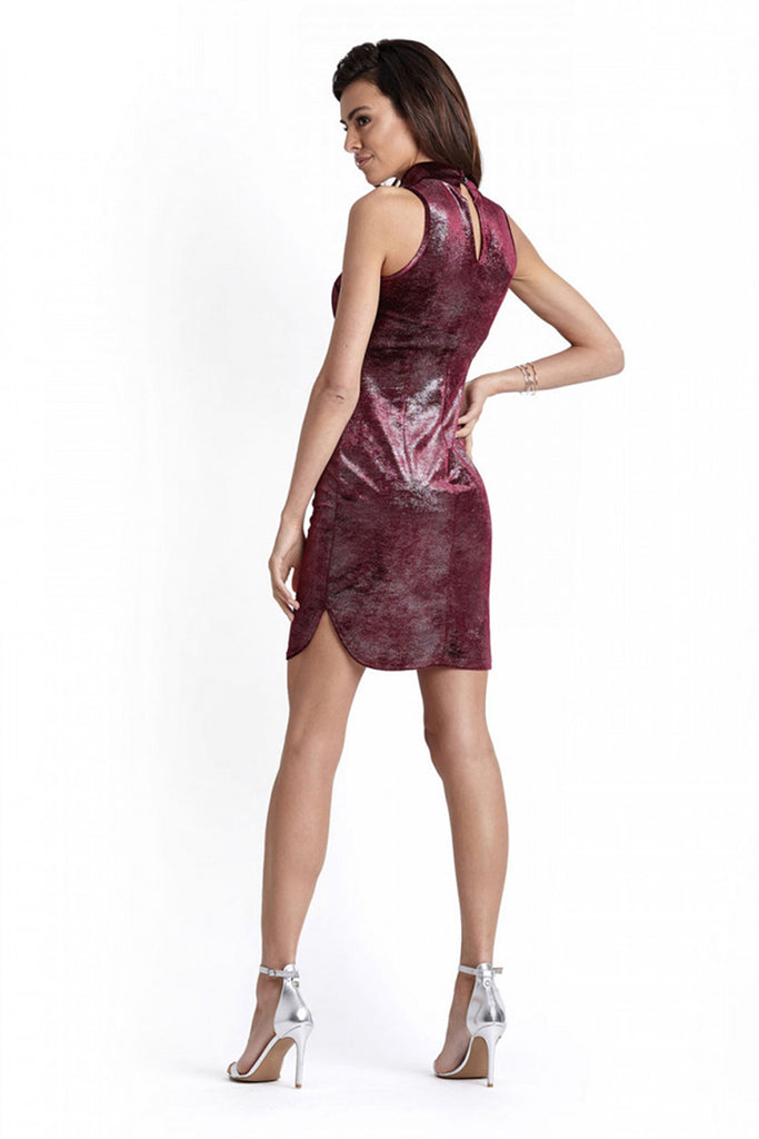 Short dress model 124036 IVON