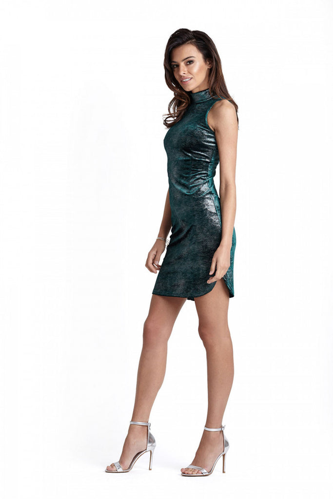 Short dress model 124037 IVON