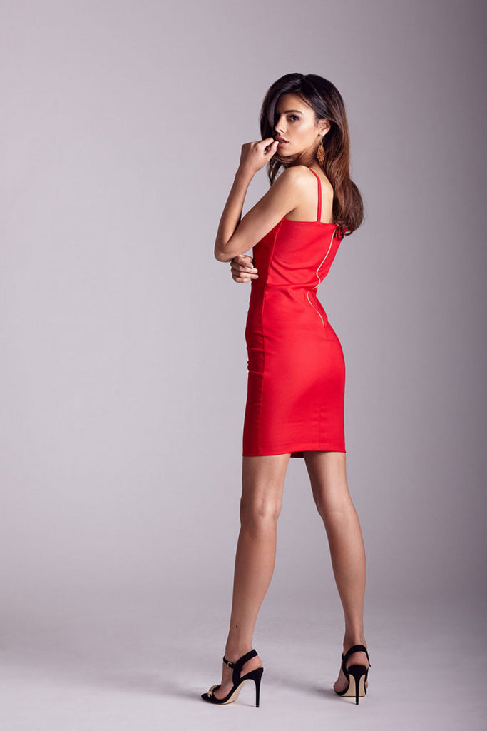 Short dress model 124876 IVON