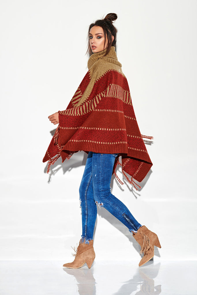 Poncho model 136003 Lemoniade