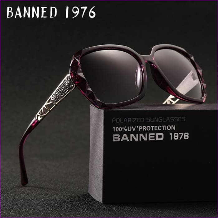 2018 Luxury Brand Design Rhinestone Polarized Sunglasses Women Lady Elegant Big Sun Glasses Female Eyewear Oculos De Sol - Sun Glasses Sun