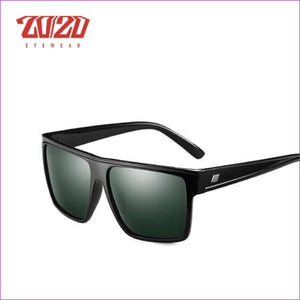20/20 Brand Design New Polarized Sunglasses Men Sun Glasses Male Classic Retro Mirror Eyewear Shades Oculos Gafas PL331 - C01 Black G15 -