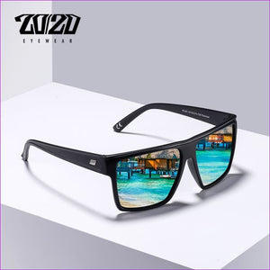 20/20 Brand Design New Polarized Sunglasses Men Sun Glasses Male Classic Retro Mirror Eyewear Shades Oculos Gafas PL331 - Mens Sunglasses