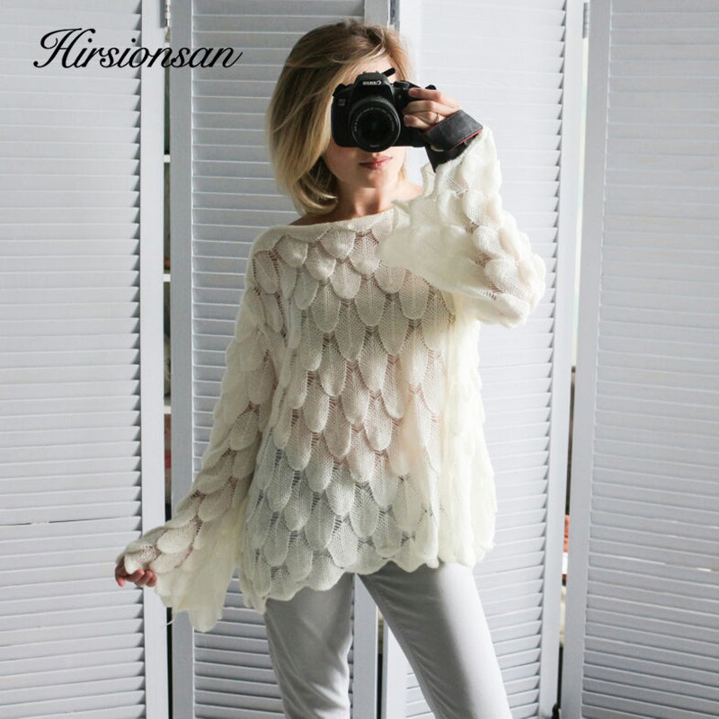 2019 Casual Fashion Loose Women Sweaters and Pullovers Pink White