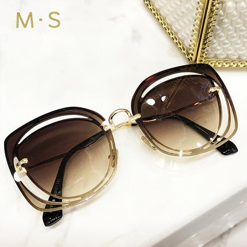 Eyewear Sunglasses Original  Pierced Sun Glasses Fashion  UV400