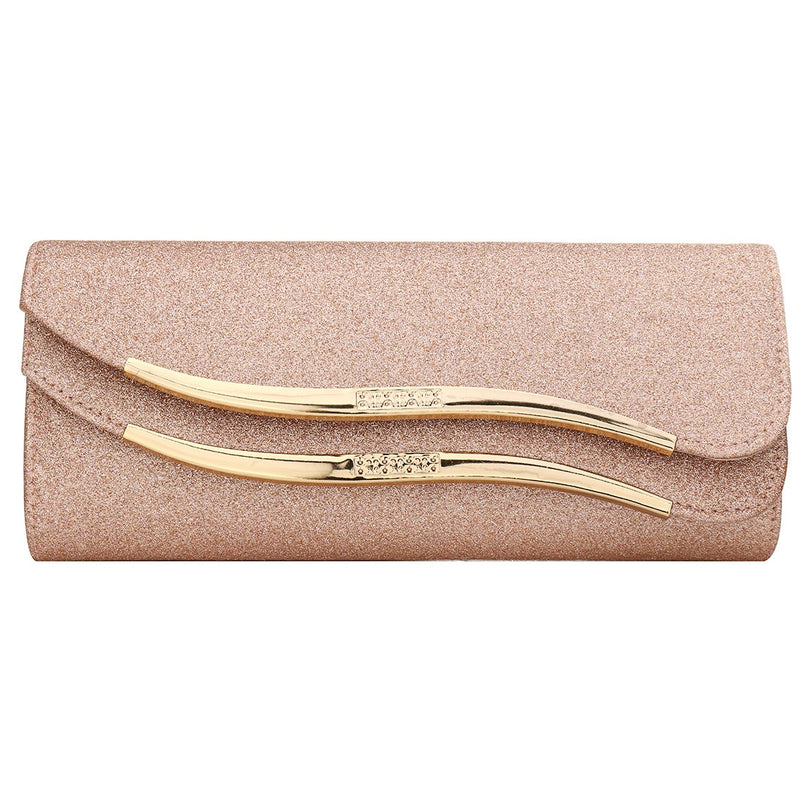 Sequined Envelope Clutch Women'S Evening Bags Bling Day Clutches