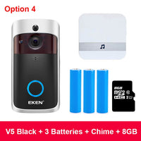WIFI Doorbell Camera Smart IP Video Intercom WI-FI Video Door Phone Door Bell